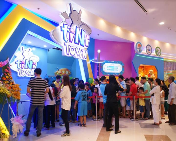 Vách Ngăn Di Động - Tiniworld Sai Gon Center